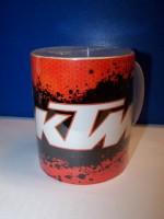 Hrnek s logem KTM