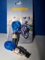 Čepička ventilku - lebka LED