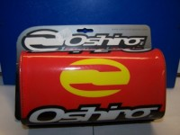Chránič bezhrazdových řidítek OSHIRO červený