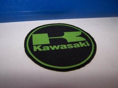 Nášivka Kawasaki - kulatá