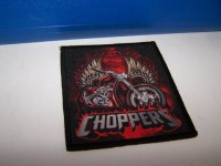 Nášivka Choppers - červená