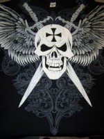 Triko Tobex Chopper Skull