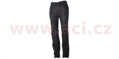 Kalhoty Jeansy Kevlar černé