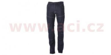 Kalhoty Jeansy Kevlar modré