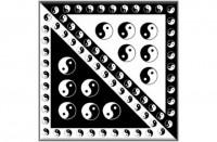 Šátek potisk Jingjang