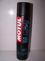 Motul E9 Wash and Wax spray
