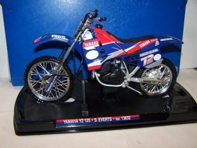 Yamaha YZ 125 S.Everts